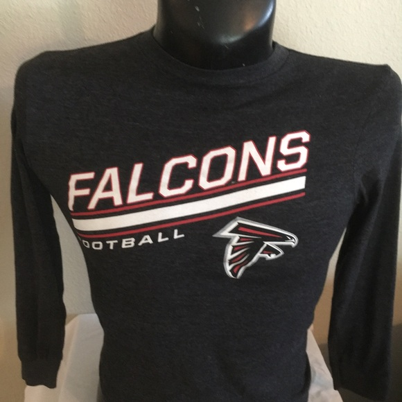 youth long sleeve atlanta falcons t shirt